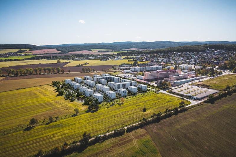Nové byty Hořovice v okolí měst Beroun a Příbram